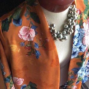 Chico's Kimono Gorgeous!!! Large New!!!